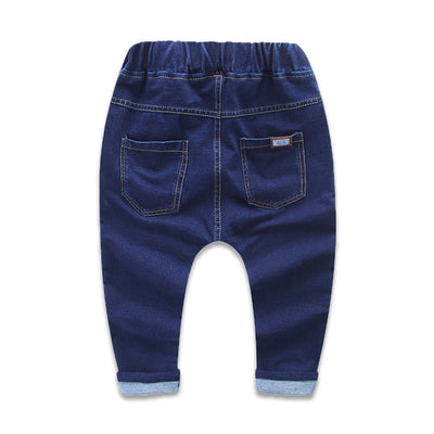 Children Pants Solid girls boys jeans Spring Baby Girl Jeans Casual Trousers Children Clothing harem Jeans