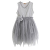 Baby bridesmaid flower girl wedding dress Kids Toddler Baby Girl Clothes Sleeveless Flower Dress Party Dress