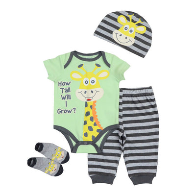 Baby Girls Fashion Long Sleeve Style New Baby Boy Clothing Stripe Suit Kids Clothes Sets Clothing Sets