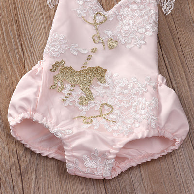 Baby Girl Clothes 2pcs Clothing Sets Girl Sleeveless Lace Belt Romper +Tutu Skirt Wedding Party Gown Outfits Set Birthday Gifts