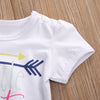 Kids Jumpsuit Infant Baby Girl Clothes Little Sister Romper Summer Short Sleeve Cotton Outfits Toddler