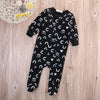 Baby rompers newborn baby rompers long sleeve underwear cotton pajamas boys girls autumn rompers