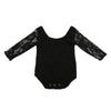 Newborn Lace Long Sleeve Baby Girl Romper