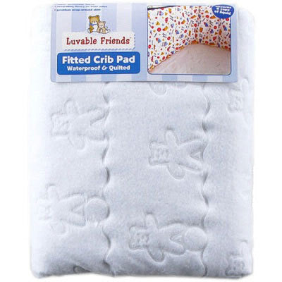 Quilted Baby Waterproof Fitted Crib Pad cotton bedding for babies