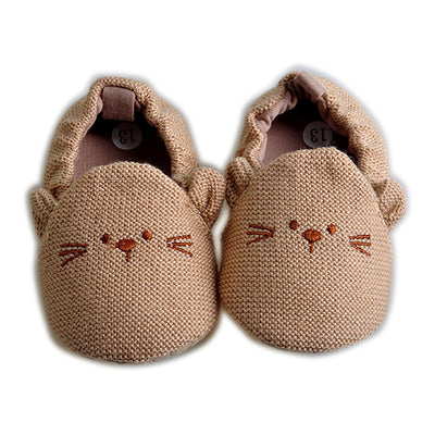 New Soft Cartoon Baby Boys Girls Infant Shoes Slippers 0-6 6-12 First Walkers Cotton Skid-Proof Kids Baby Shoes