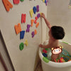 36pcs Bath Toys Kids Educational Toy Floating Bath Foam Letters Numbers Stick on Bathroom Toy