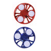 Round Fidget Spinner LED Light Hand Spinner Dancing Gyro Anti stress Spinner Hand Blue Red Toys Spinners Anti-stress For Hands