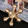 Gold Fidget Spinner Metal Brass Finger Spinner Anti Stress Hand Spinner for Autism ADHD Toys Gift EDC Spinning Top