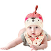 Nest Baby Bibs and Baby Caps Sets Fashion Cotton Unisex Bibs Burp Cloths For Children