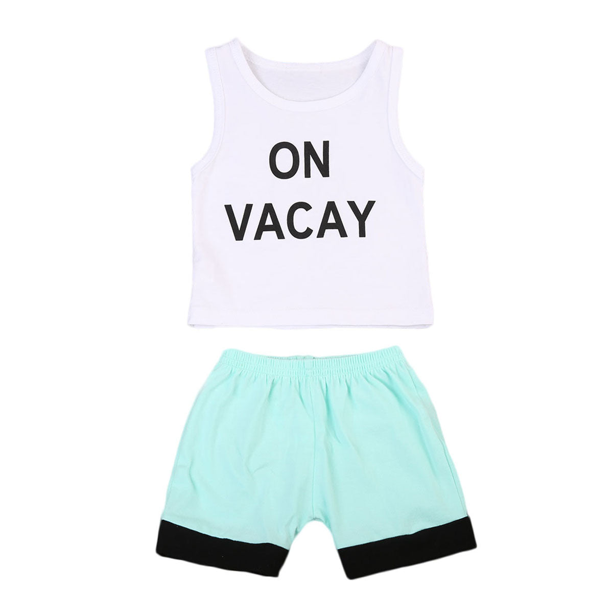 1cb3eed133ff Cute Baby Boy Kids Casual vest Tops short Pants Outfits Clothes Set ...