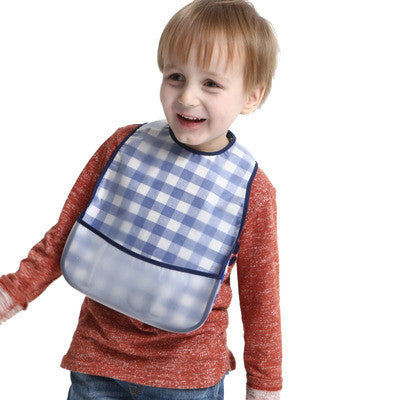 Adjustable Baby Bibs Waterproof Kids Cartoon Pattern Boys Girls Infants Burp Clothes Feeding Care Lunch Bibs
