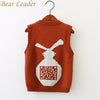 Boys Sweater Boys Sweater Baby Boys Sweater Kids Boutique Knitted Wool Cartoon Rabbit Vest