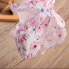 born Baby Girls Clothing Set Sleeve Shirt Floral Tops +Mini Skirt Dress Outfits Summer