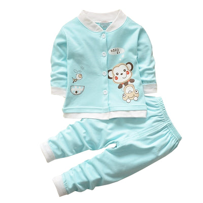 Baby Boys Girls Clothing Sets Children Spring Cotton Clothes Suit Baby Pajamas t shirt pants Homewear Clothing Suit