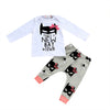 Autumn Cute Baby Girls Clothing Set Infant Summer Outfits Clothes Long Sleeve Top T-shirt +Pants 2pcs Set
