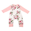 Autumn born Kids Baby Girls Long Sleeve Floral Romper Stitching Jumpsuit Clothes Outfits 0-24M