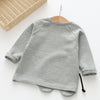Girls Boys Clothing Sets Sets Children Clothing Elephant Appliques Design Sweatshirts+Pants Suit