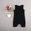 New fashion baby boy clothes sleeveless baby rompers newborn cotton baby girl clothing jumpsuit infant clothing