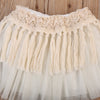 Girls Baby born Toddler Tutu Tulle Lace Tassel Skirt Birthday Party Photo Prop Baby Clothing