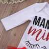 3PCS Newborn Baby Girl Long Sleeve eyelash Romper +Red Tutu Lace Triangle shorts +Headband Outfits Set Clothes