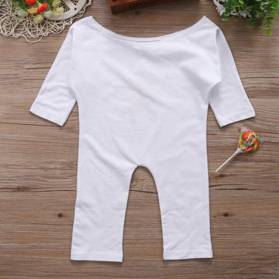 Baby Clothing Little Kid Girl Off Shoulder One-Pieces Romper Jumpsuit Outfit 1-6T NEW