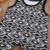 Baby Clothing Baby Kids Boy Girl Sleeveless Infant Romper Jumpsuit Geometric Cotton Clothes Outfit