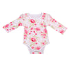 born Baby Boy Girl Long Sleeve Floral Cotton Romper Jumpsuit Clothes Outfit Baby Clothing