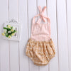 Newborn Infant Baby Girl Romper Tassel Halter Jumpsuit Outfit Sun suit  Baby Clothing