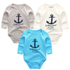 3pcs/lot Baby Bodysuits Cotton Body Baby Girl Boy Clothes Long Sleeve Infant Overalls Bodysuit born Clothing baby product