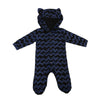 Cotton Baby Boy Animal Hooded Romper Long Sleeve Jumpsuit Outfits Clothes