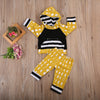 Baby Clothing Infant Toddler Baby Outfits Boy Girl Clothes Long Sleeve Hoodie Tops Pants