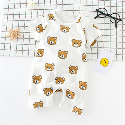 Baby Boy Clothes Baby Girl Clothing Sets Cartoon Newborn Baby Clothes Infant Jumpsuit