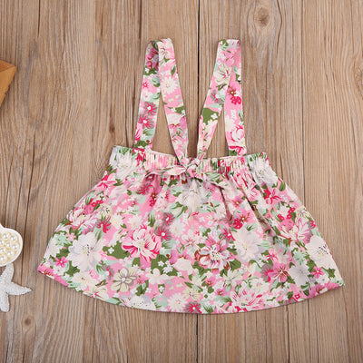 Girls Floral dress baby clothing Summer Sleeveless Princess Party Flower Dress Clothes
