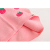 Girls Sweaters Girls Clothing Sleeveless Outerwear Cute Strawberry Appliques Knitwear Vest