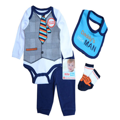 New arrival Baby Boy Clothes Sets Character Romper Pants Socks Similar Suit Cotton Sport
