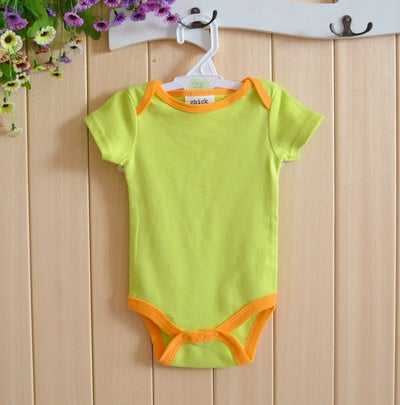 5pcs/pack 0-6m short-Sleeved Baby Infant cartoon bodysuits for boys girls jumpsuits Clothing newborn clothes