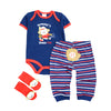 Baby boy Clothes Sets animal Romper+Pants+Socks Similar Suit Cotton infant product baby girl clothing