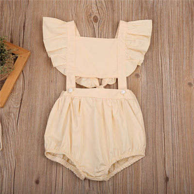 Kids Baby Clothes Girls Cotton Romper  New Arrival Summer Jumpsuit Clothes