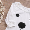 Baby Kids Boy Girl Infant Bear Long Sleeve Romper Jumpsuit Outfits Baby Clothing