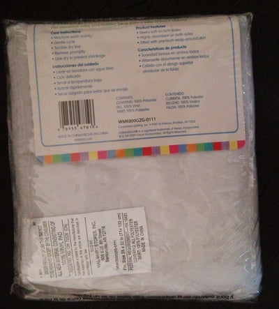 "Baby Quilted Waterproof Fitted Crib Pad baby sheets bedding set (28"" X 52"")"