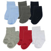 Socks for Children 6pairs / Lot Baby Kids Socks Basic Cuff for Baby 0-6,6-18,18-36 months