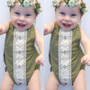 2Pcs Baby Girl Clothing Newborn Baby Clothes Toddler Kids Baby Girls Romper Jumpsuit Outfits Lovely Clothes Bottom Shirts