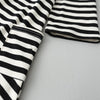 Girls dresses casual Asymmetrical striped princess dress The party for children clothes