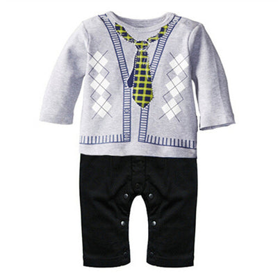 Baby Boy Clothes Baby Rompers Cotton Newborn Baby Clothes Autumn Baby Boy Clothing Sets kids clothes