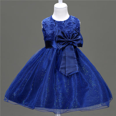 bf2e92e5f Girls Party Dresses Baby Girl Clothes Kids Toddler Girl Birthday ...