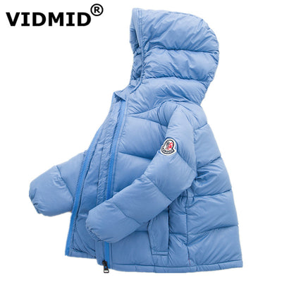 Baby clothing girls down jacket coat outerwear Clothes Infant boys Girls Winter Warm Coat Jacket Children hooded