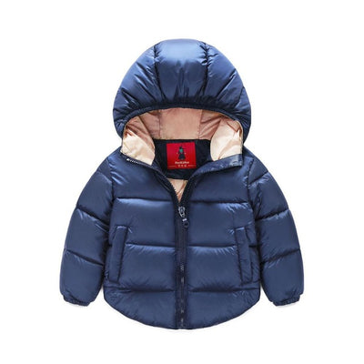 Children's Outerwear baby boy down jacket Parkas for Boys Girl kids Hooded duck Down Girls Coat Kids Casual Jacket