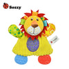 Baby Toy Comforting doll born Cartoon Hand Bells Plush Baby Rattles Infant Playmate Doll Tither Development Kids Toys