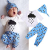 Baby Boy Girl Clothing Infant Romper Pants Hat Newborn New Arrival Autumn Clothes Outfits Set