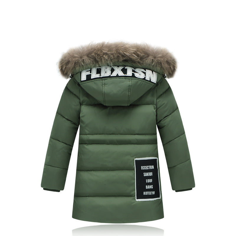 0f54a93a7ddf Winter Children s down jackets outerwear Boy warm duck down Coats ...